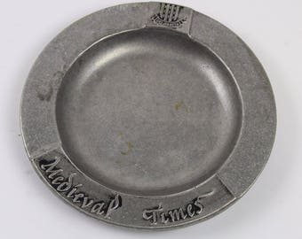 Medieval Times Metal Collectors Plate