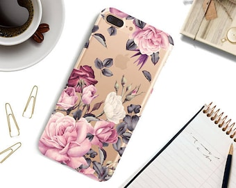 iPhone 8 plus case Flowers iPhone 8 case, iPhone X case, iPhone 7 case iPhone 7 Plus case, iPhone 6 / 6s, 6 Plus Case, iPhone SE Case.