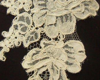Lace Ecru ivory lace wedding necklace
