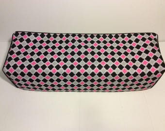New! Cricut Explore/ Air/ Air 2/ One Custom Handmade Dust Cover Pink and Black with Black Piping