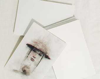 Art print - Spectral woman