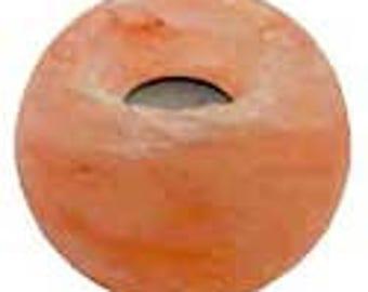 """3 1/2"""" Sphere Salt candle holder"""