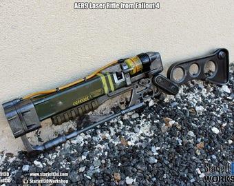 AER9 Laser Rifle from Fallout 4 [Fan-art]