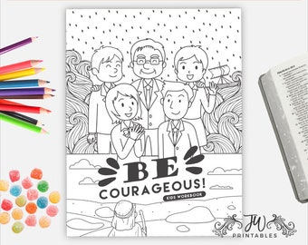 Kids Convention Workbook (Pre-Order) | JW Gifts | Kids Convention Notebook | Jehovah's Witnesses | JW | Jw Printables | Jw Notebook