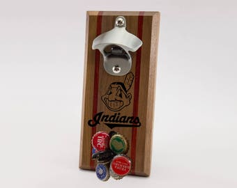 Cleveland Indians Magnetic Bottle Opener
