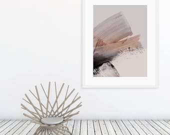 Limited Edition Giclée Print by Artist Michael Hunter BA Hons. Neutral Prints. Wall Art. Collectable Art. Original Art Prints. Neutral Decor