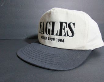 """Vintage Eagles 94 Wold Tour """"When Hell Freezes Over"""" Concert Snapback Hat"""