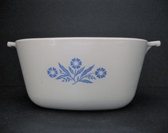 Corning Ware Blue Cornflower P 1 3/4-B Casserole Dish