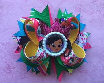 Nella The Princess Knight Hair Bow