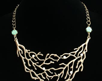 Sea-riously Stunning Coral Necklace