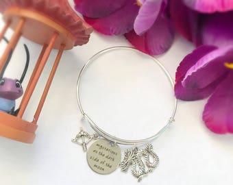Mulan inspired Bangle Bracelet