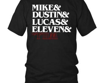 Mike dustin Lucas Eleven Will Strange tv show