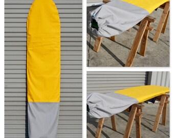 Custom Canvas Surfboard Bag / Surfboard Sock- Sunnyside DISCOUNT