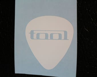 Tool Guitar Pick Decal Any Size Any Colors