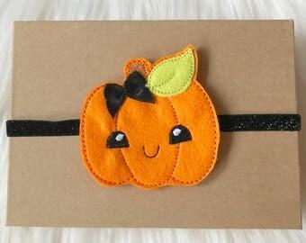 Halloween Headband, Halloween Baby Headband, Pumpkin Headband, Baby Headband, Newborn Headband, Infant Headband, Newborn Headband, Headband