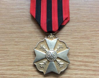 Belgium Civic Long Service Medal in the Administration