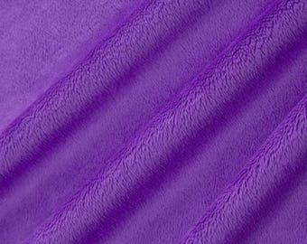 Sale Purple Minky Cuddle 3 - Shannon Fabrics - Smooth Minky