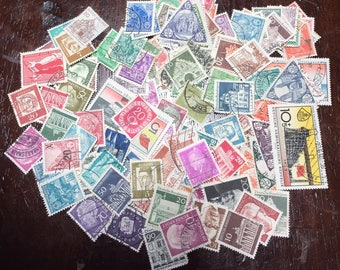 120 German Postage Stamps