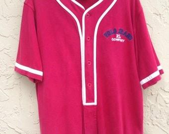 Vintage polo jeans baseball jersey