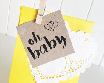Baby Shower Favour Kit Pk10 - Yellow