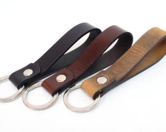 Keychain Leather