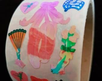 Plastic sticker roll with 50 breaks Ballet