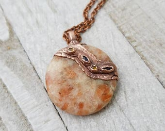 Happy Path Sunstone Amulet