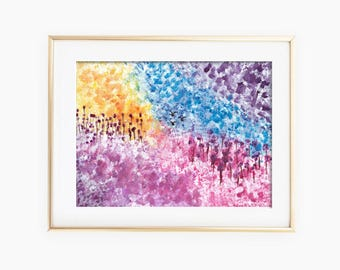 Abstract Landscape Art, Abstract Art, Landscape Art, Abstract Painting, Landscape Watercolor, Abstract Watercolor, Landscape Painting