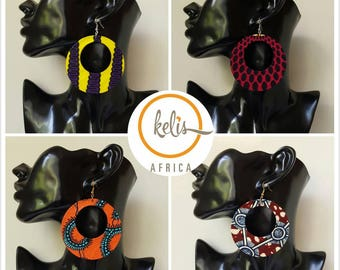 SALE!!!/Ankara Earrings / African Print Earrings /Handmade Earrings / African earrings