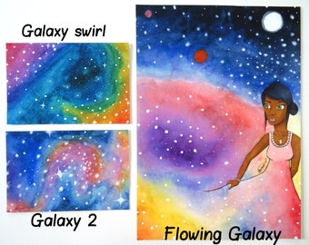 Galaxy Prints Set 2 (Individual Prints or Discounted Bundle)