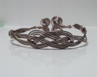 Bracelet Wirework Alu Sailor's Knot