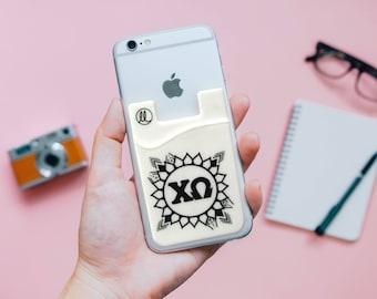 Chi Omega Sunflower Phone Wallet