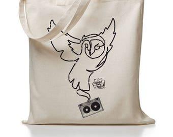 OWL you need - jute bag