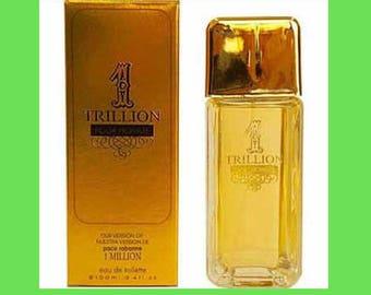 1 Trillion  Cologne Men's Perfume Fragrance 3.4oz inspired by 1 Million