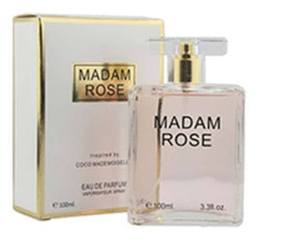 MADAM ROSE Perfume 3.3OZ.for Woman Our Impression of Coco MADEMOISELLE