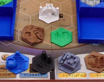 Terraforming Mars 11 Speciality Tiles only