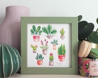 Green Life - Small Art Print