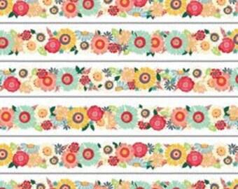 ADORNit  Bloom Trim Cotton Quilting Fabric