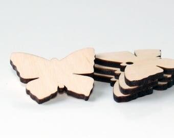 Wood butterfly, Wedding favors, Butterfly shape, Wooden butterfly shape, Wood tags, Wooden shapes, Butterfly, Wooden shapes, Wood butterfly