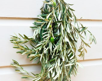 Fresh Olive Bunch | Olive Branches | Olive Leaf Branches | Olive Garland | Olive Wreath | Olive to Make Garlands and Wreaths | Olive Bunches
