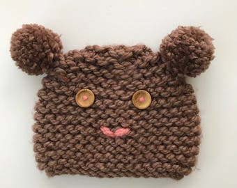 OsoNATAS cap/Hand knitted cap/winter cap