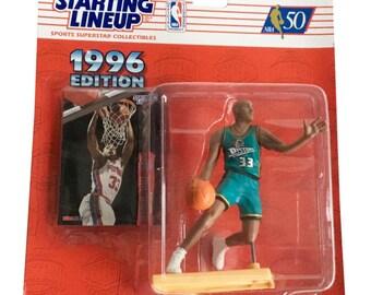 NBA Starting Lineup SLU Grant Hill Action Figure Detroit Pistons 1996 Kenner