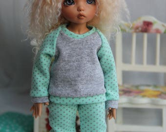 Outfit for BJD - Pajamas for LittleFee by Fairyland