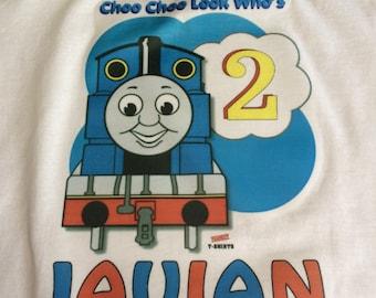 Thomas the Train birthday shirt