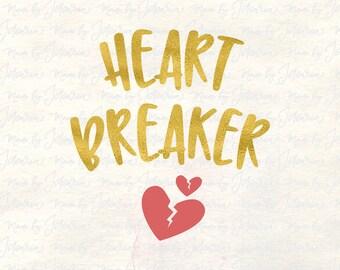 Heart Breaker Svg, valentine svg, valentines day svg, valentines svg, valentine shirt svg, valentine kid svg, first valentine svg, heart svg