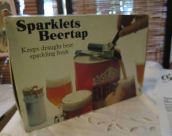 Sparklets Beertap Keeps Draught Beer Fresh (1970s)
