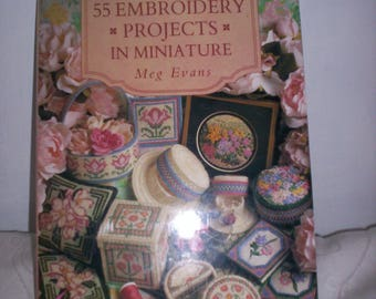 55 Embroidery Projects in Minature