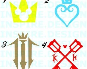 Kingdom Hearts 3 Decals