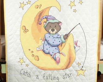 Fairway - Stamped Cross Stitch Pack - Quilt Top ~ CATCH A FALLING STAR - #92615