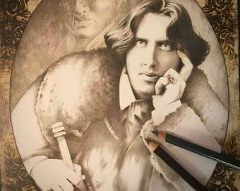 Oscar Wilde - original portrait